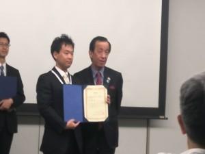 松林先生表彰式2
